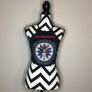Tops - Ramones Halter Top
